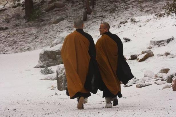 Mestre e o discipulo taismo, budismo