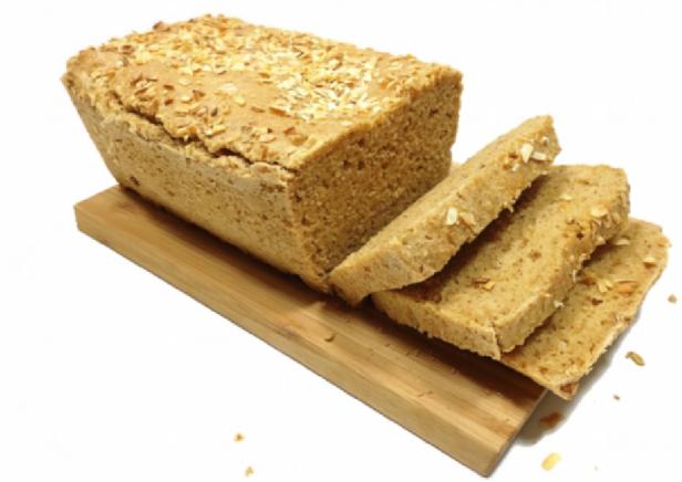 pao de farinha de amendoim